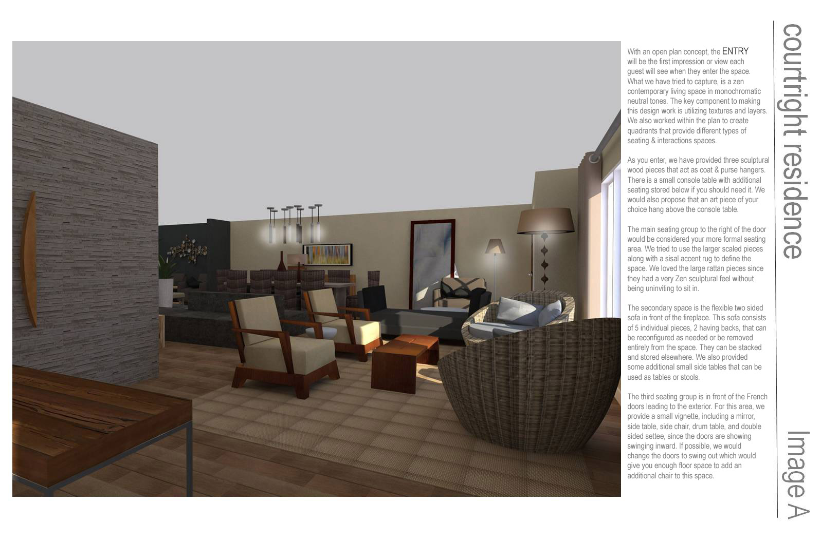 Living room designed by simple studios contemporary zen for Zen simple living