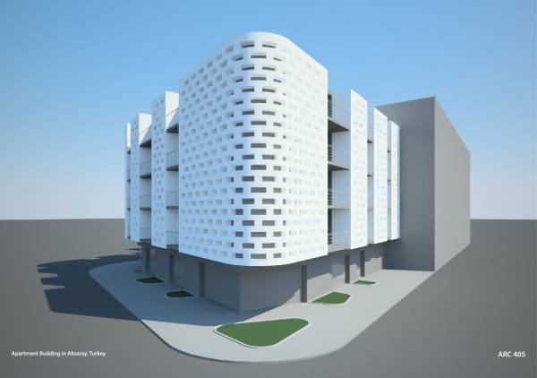 Image Apartment Building in ...