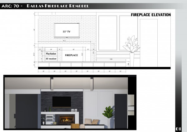 Image Dallas Fireplace Remodel (1)