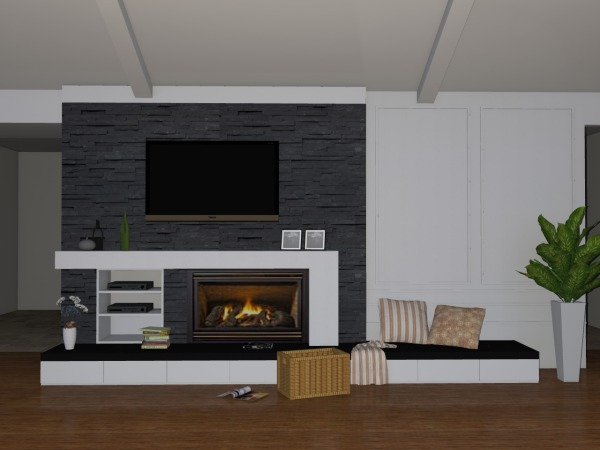 Image Dallas Fireplace Remodel