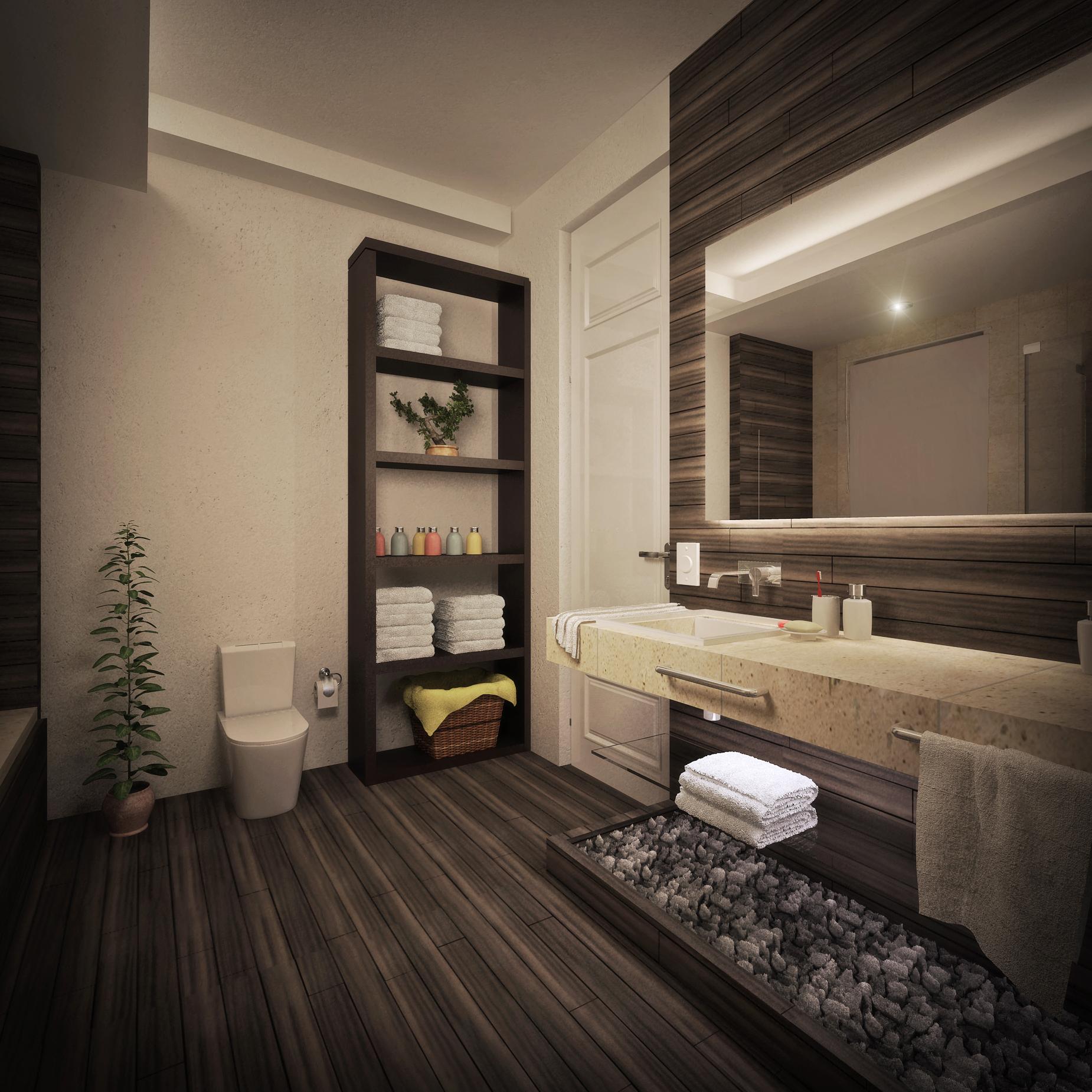 Bathroom design project designed by cuam studio master for Bathroom remodeling fort lauderdale fl