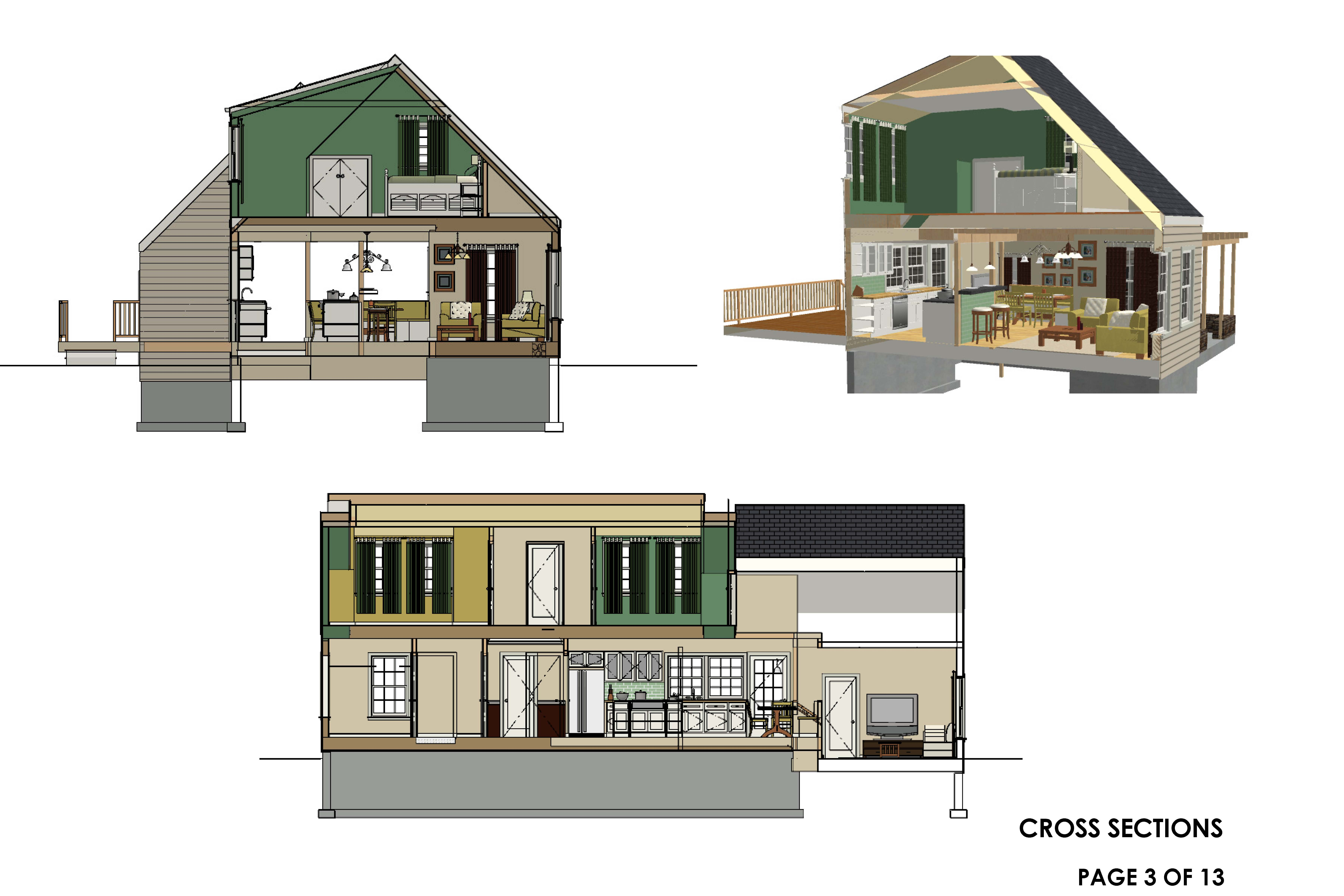 Viewdesignerproject projecthome remodeling for Cape cod renovation floor plans
