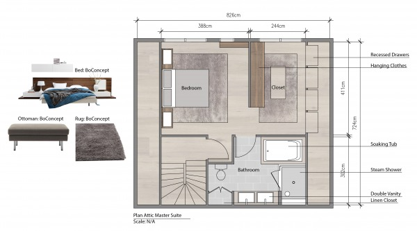 Image Plan With Furniture Se...
