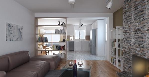 Image Modern looking kitchen... (1)