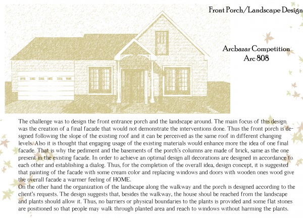 Image Front porch/landscape ...