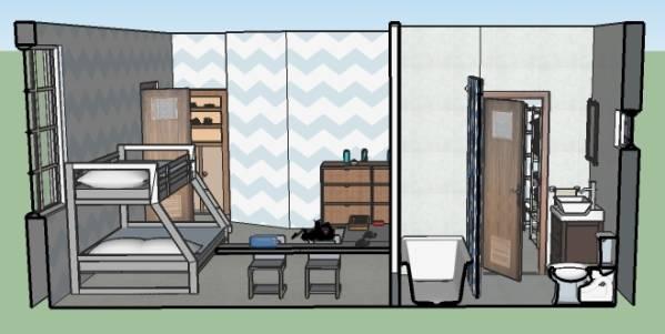 Image Create a Bedroom / Bat...