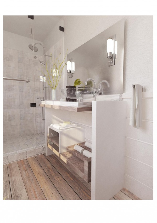 Image 3/4 bath remodel
