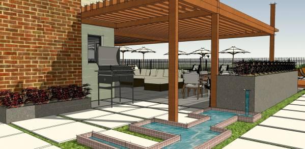 Image Backyard Pool and Patio