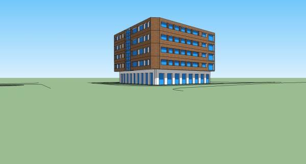 Image Apartment Building in ... (2)