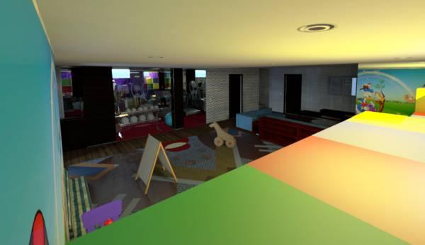 Image Modern Basement Remodel (1)