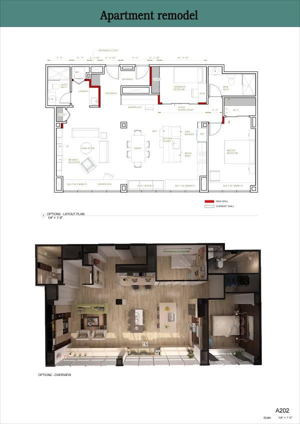 Image Option2 - Layout plan