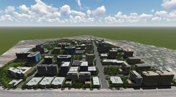 Image Multi-million township