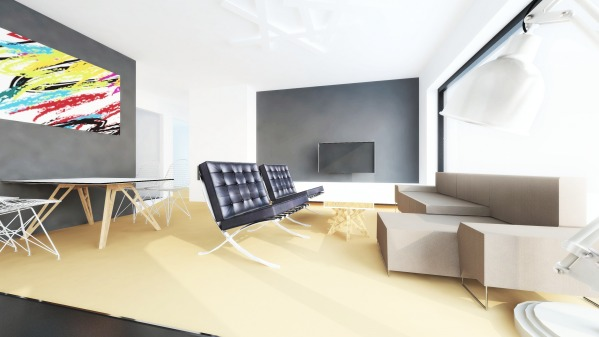 LOUNGE | 3D Perspectiv...