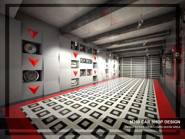 Image M360 Car Shop Design