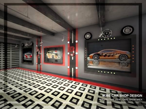 Retail Small Business Designed By Mai Taha M360 Car Shop Design