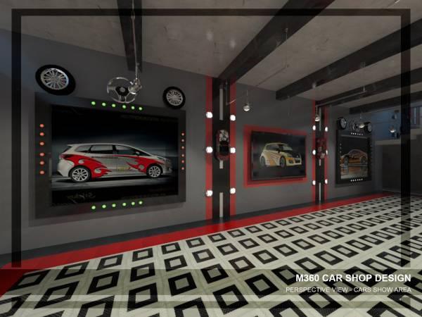 9785b83cd2d8ab Retail Small Business Designed by Mai Taha - M360 Car Shop Design ...