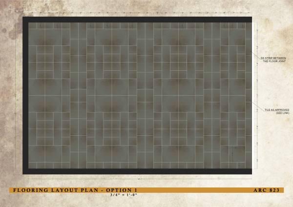 Flooring Layout Plan -...