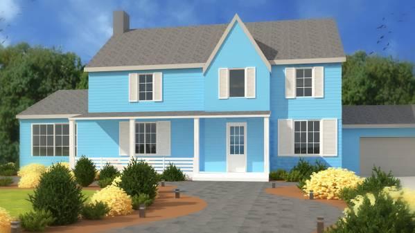 Image House Front Yard Desig...