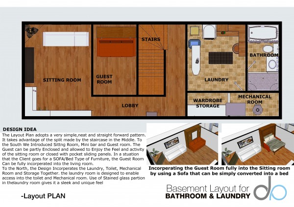 Image Basement Layout For Ba... (0)