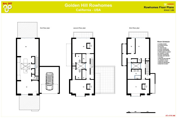 Best plan for row houses joy studio design gallery for Project home plans
