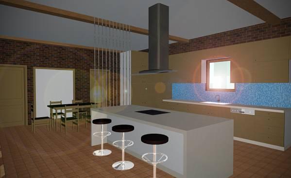 Image Hacienda Style Kitchen (1)