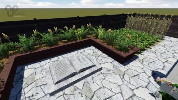 Backyard designed by a bd architects biblical garden for Garden design bible