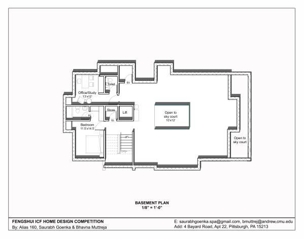 Multi story family homes designed by saurabh goenka feng for Icf home plans