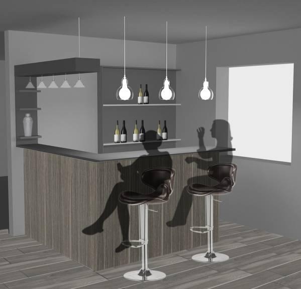 Image Home corner bar remodel