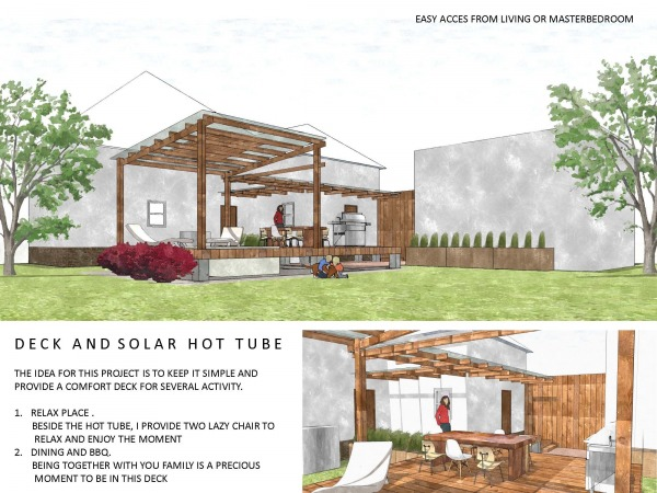 Image Deck and Solar Hot Tub
