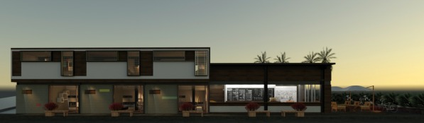 Image Sketch for New Facade ...