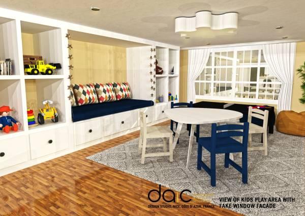 Basement Designed By Daic Basement Design Low Ceiling