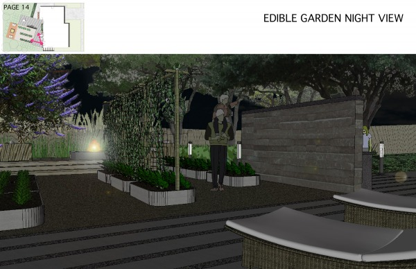 Image EDIBLE GARDEN_NIGHT VIEW