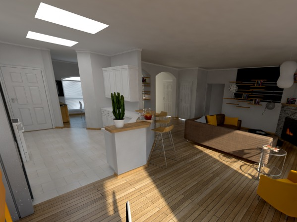 Image 3d model / kitchen