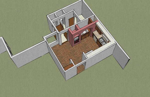 Image Dollhouse View of Exis...