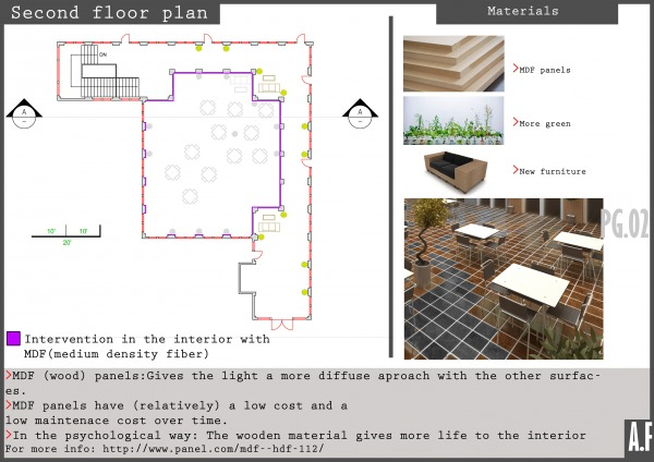 Image Second floor plan and ...