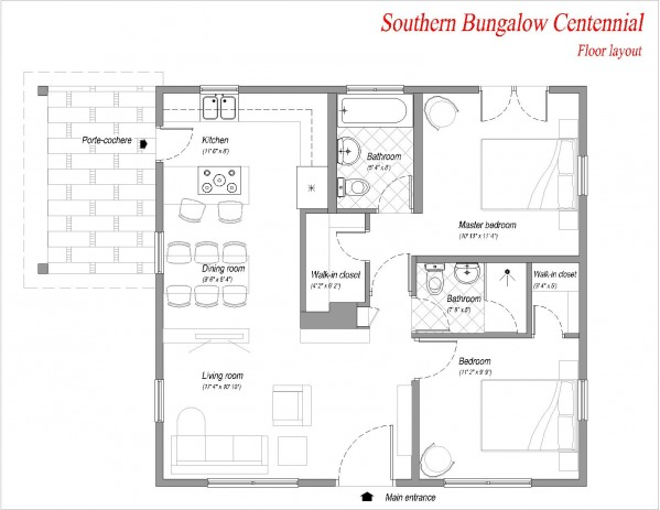 Image Southern Bungalow Cent... (1)