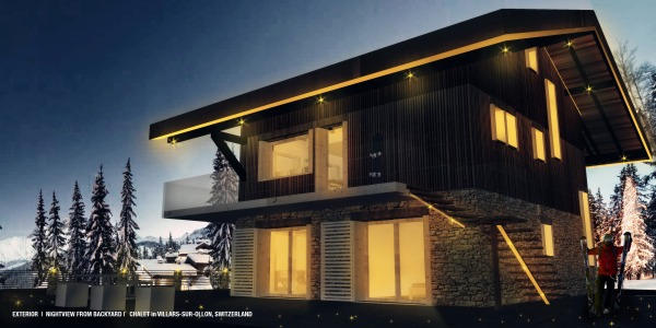 Image CHALET03-NIGHTVIEW