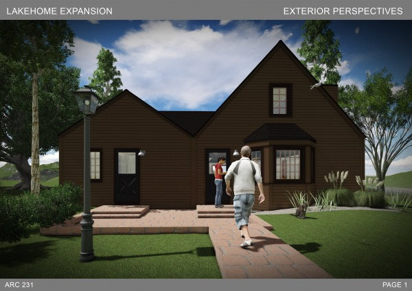 1. Perspectives exterior