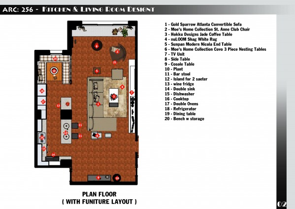 Image Kitchen & Living Room ... (1)