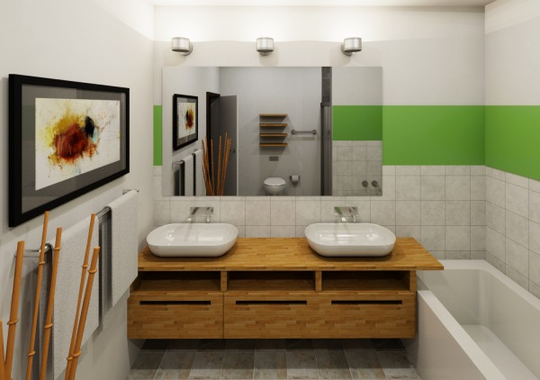 Image Contemporary Bathrooms