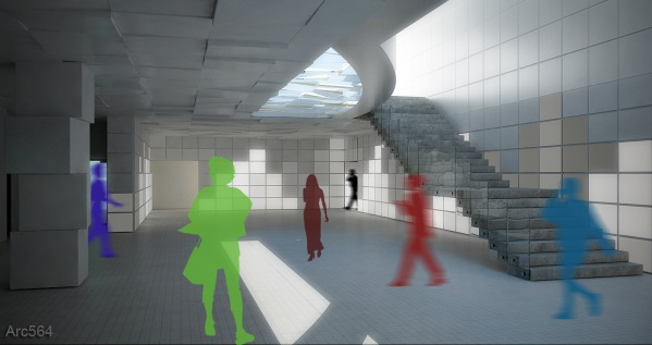 Image MIT Media Lab Lobby