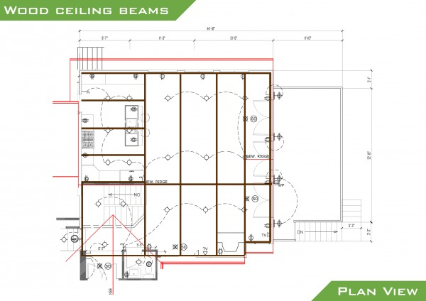 Image Floor plan with new ridge