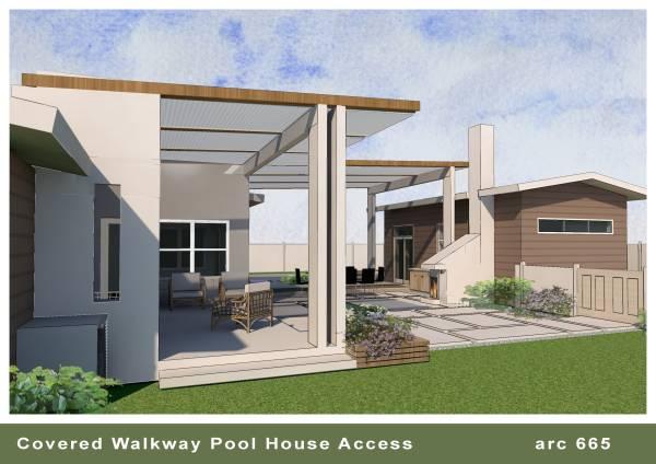 Image Covered Walkway / Pool... (1)