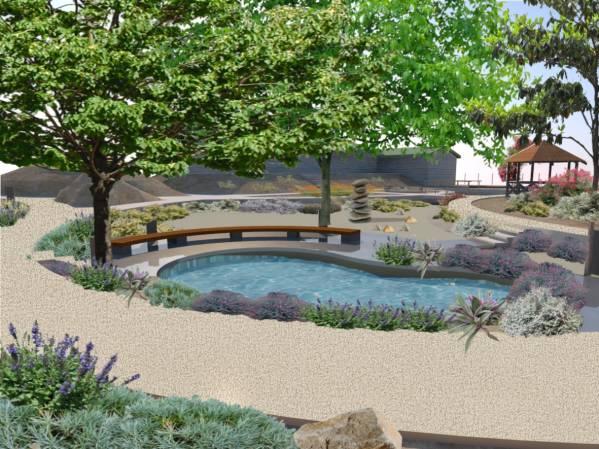 Image Landscape Oasis in Ari...