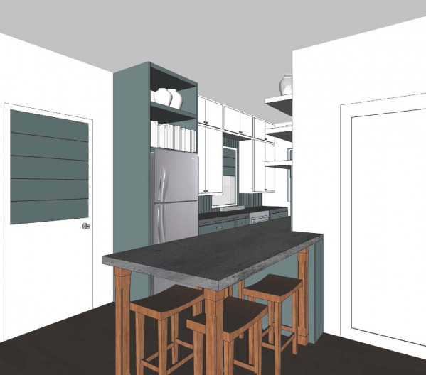 Image Wood River- Kitchen