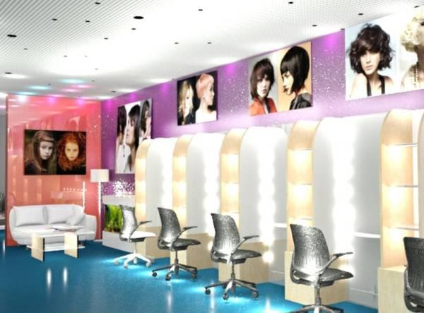Image Hair Salon Interior De...