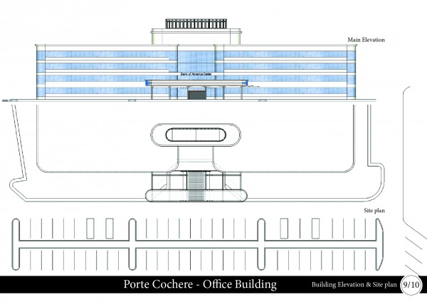 Image Main Elevation and Sit...