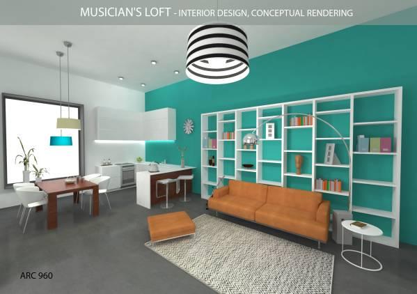 Image Musician's Loft - Inte...