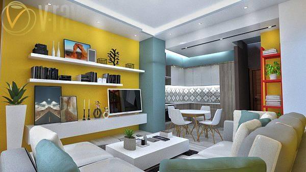 Image Living room & Bedroom
