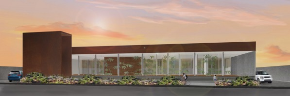 Render of the building...